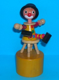 Clown - Stool - Yellow Suit - Yellow Base