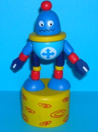 Robot - Spaceman - Blue - Yellow Base