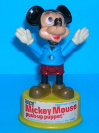 Mickey Mouse - Gabriel - Vintage - Push Puppet #3