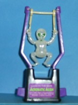 Alien - Push Button Acrobat Trapeze Swinger