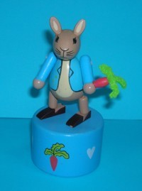 Peter Rabbit - Beatrix Potter - Push Puppet