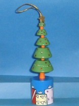 Christmas Tree - Presents Around Base - Push Puppet
