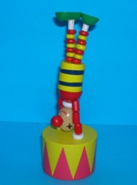 Clown - Handstands - Red/Yellow Big Top - Circus