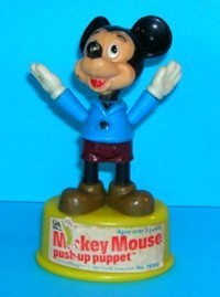 Mickey Mouse - Gabriel - Vintage - Push Puppet #6