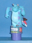 Monsters Inc - Push Puppet - Flix - Sulley & Boo