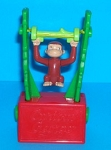 Curious George - Monkey - Trapeze Toy