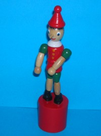 Pinocchio - Traditional - Red Base
