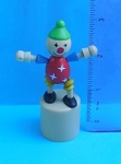 Clown - Small - White Star Costume - Natural Base