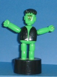 Monster - Halloween - Green - Plastic