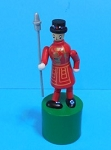 Yeoman of the Guard - Beefeater - England - Push Puppet