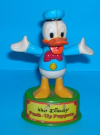 Donald Duck - WD - Gabriel - Push-Up Push Puppet #1