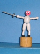 Fencer - Fencing Man - Small - Italy
