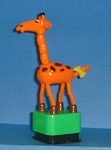 Giraffe - Plastic - Square Green Base