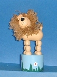 Lion - Yarn Mane - Brightly Colored  - Mark 1