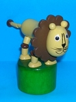 Lion - Large - Push Puppet