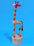 Giraffe - Brown Alternate Beads - Natural Base