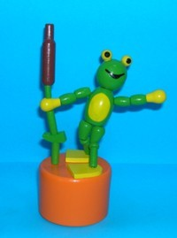 Frog - Bullrush - Large - Orange Base