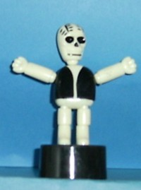 Skeleton - Halloween Monster- Plastic