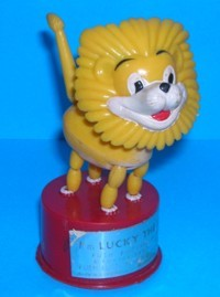 Lucky The Lion - Kohner - Vintage Push Puppet #2