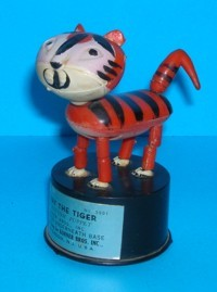 Terry The Tiger - Kohner - Vintage - Push Puppet #2