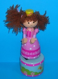 Princess - Crown - Pretty Hand-Painted Base